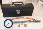 Prüfpumpe für Gasleitungen