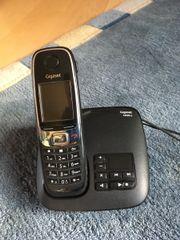 Festnetztelefon mit Anrufbeantworter