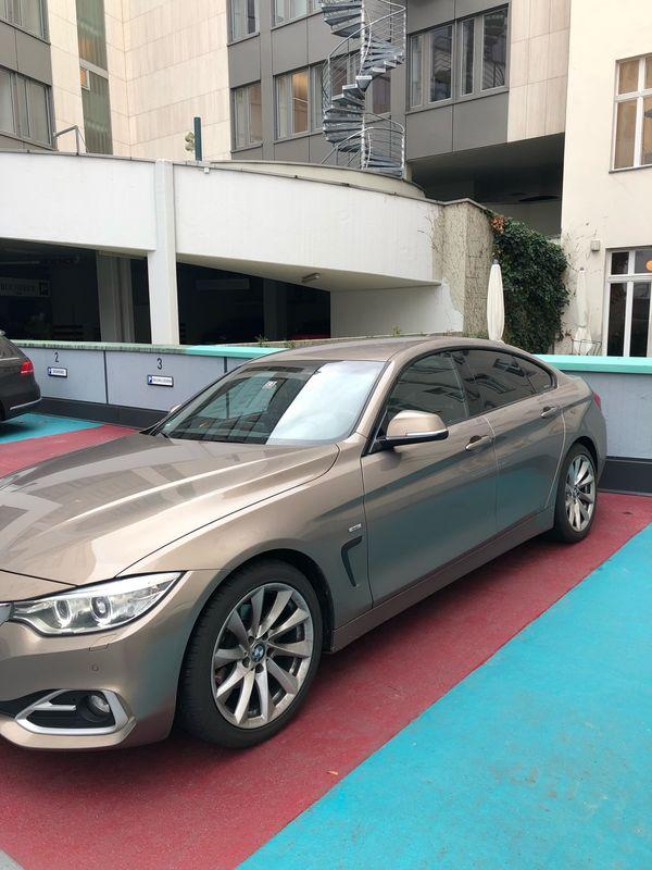 BMW 19-Zoll-Felgen auf Pirelli Winterreifen (2x4, 5cm / 2x6cm Profildurchmesser) - Berlin Schmargendorf - Verkauft werden 4 Winterkompletträder durch Leasingausläufer (BMW 4er Gran Coupe) mit 19 Zoll BMW Alufelgen, bestückt mit Pirelli Reifen, die einen Winter noch überstehen und dann ersetzt werden sollten. Profil liegt bei 2 x 4,5 - Berlin Schmargendorf