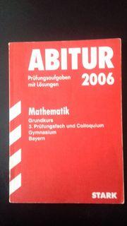 Abitur 2006 MATHEMATIK Bayern Stark
