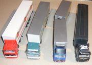 4 LKW Modelle