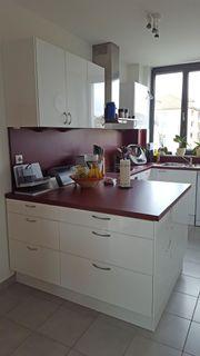 Weiße Hochglanz Küche In Top