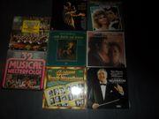 Sammlung LPs Operette