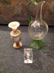 Alabaster-Vase, alter