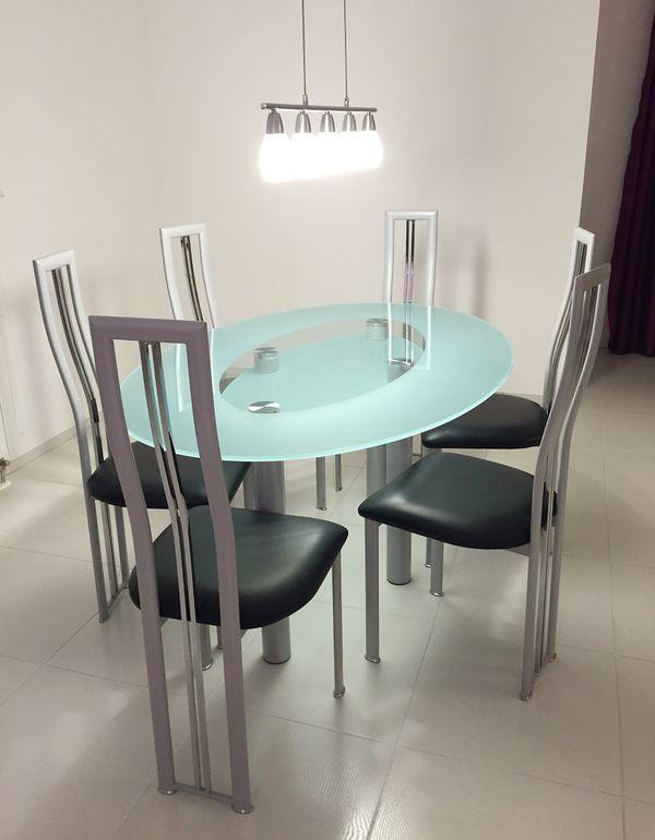 Glas stuhl gebraucht kaufen nur noch 4 st bis 60 g nstiger for Stuhl design gebraucht