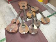 Defekte Musikinstrumente