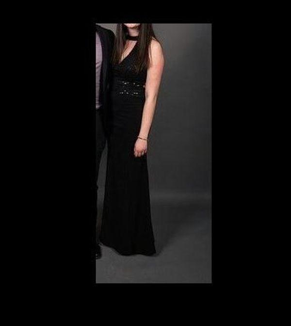 Schwarzes Cocktailkleid / Abendkleid, ideal auch für Abiball und ...