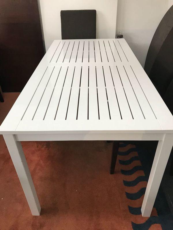 Outdoor Tisch Weißlack nur 139,-EUR Esstische,Tische,Garten in ...