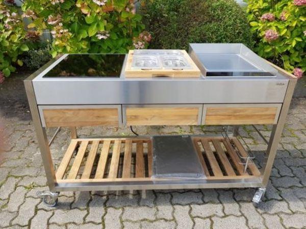Outdoor Küche Aus Frankfurt : Indu tomboy teak outdoorküche in frankfurt alles mögliche kaufen