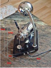 Verkaufe sehr schöne Nylonstrumpf-Stopfmaschine Lampe