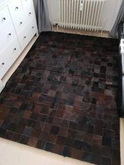 Patchwork Teppich aus