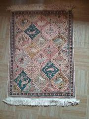 Teppich - Seidenteppich handgeknüpft