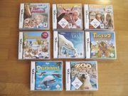 8 Spiele für Nintendo DS