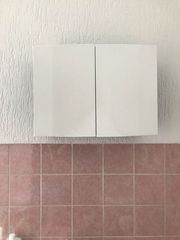 Medizinschrank Badezimmerschrank schwarz weiß