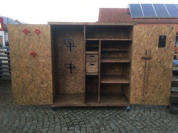 Individueller Pferde Schrank - Sattelschrank - Bundeswehrschrank in ...