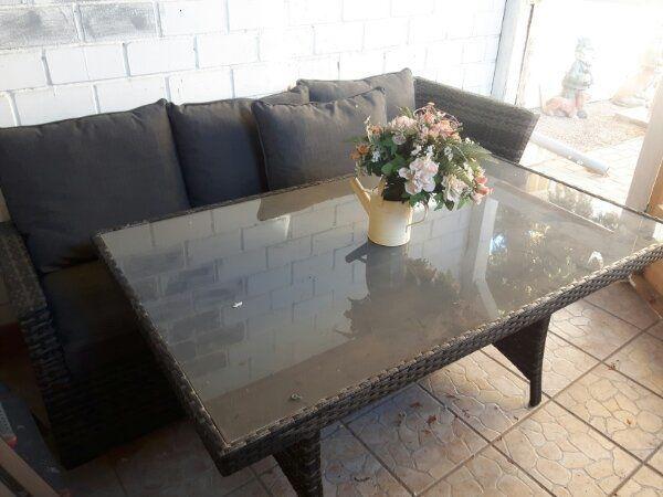 Gartenmöbel Lounge Sitzlandschaft Ratan