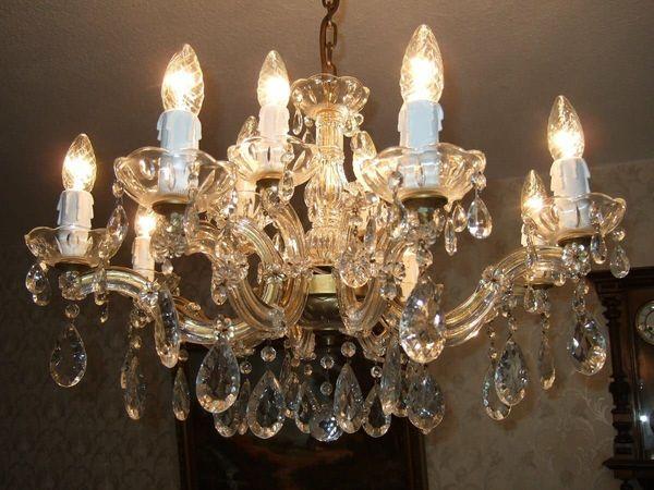 Antike Kronleuchter Verkaufen ~ Maria theresia hochblei kristall kronleuchter antik ca jahre