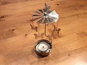 Teelichtkarusell Metall