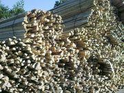 Trockenes Hartholzfeuerholz
