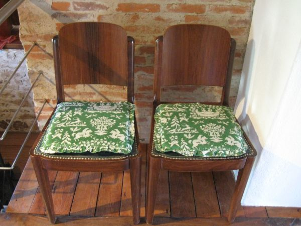 Stuhl Antik Stühle Mit Sitzkissen