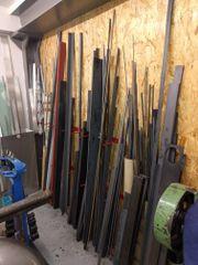 Blechtafel, Stahl Kleimateriallager