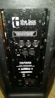 The Box -aktiver stage monitor