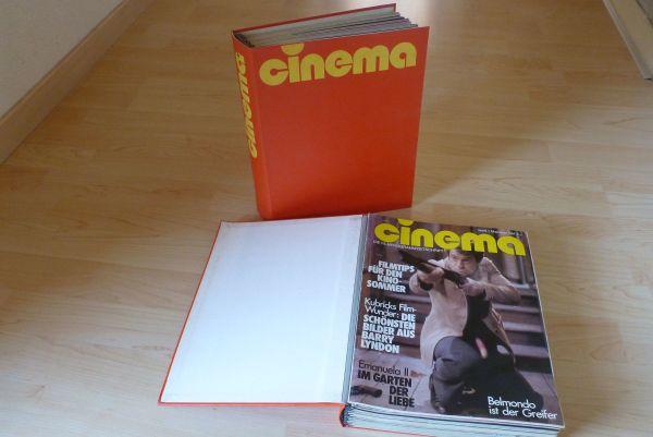 RARITÄT - Filmzeitschrift CINEMA 1980 - 2000