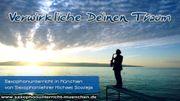 Saxophonunterricht in München bei erfahrenem