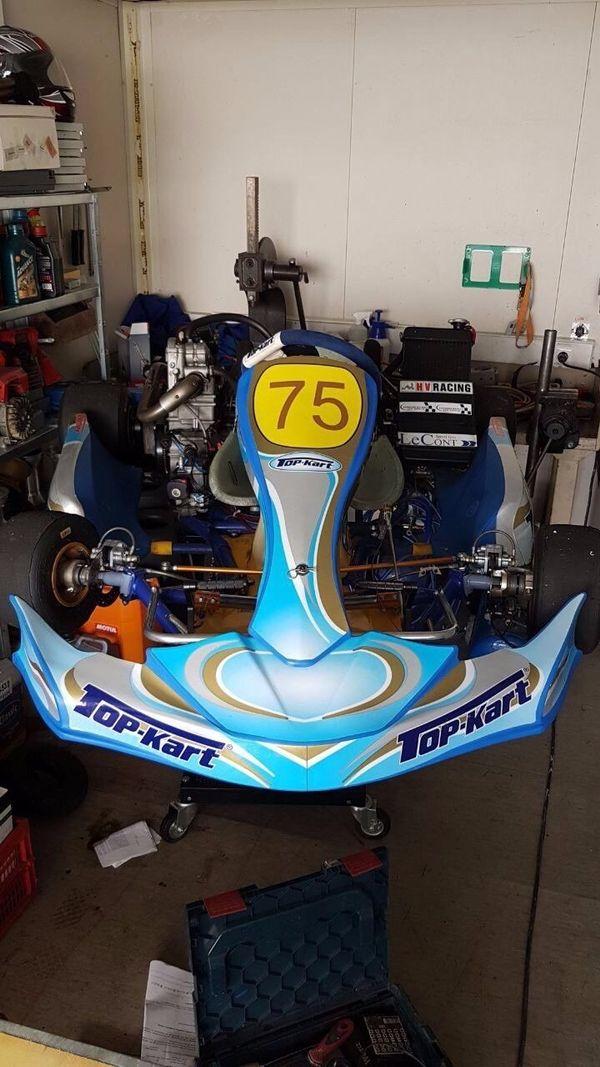 Renn Kart Top-kart Speedy KF1KF2 Mit Motor VAMPIRE R 4T in Berlin ...