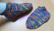 selbstgestrickte Sneaker Socken Söckchen Größe