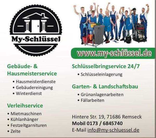 Hausmeisterservice Reinigungsservice Rund Um Ludwigsburg