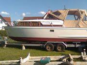 Holzkajütboot Xylon Tümmler ohne Motor