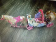 Barbie Pferdekutsche mit