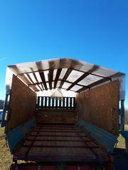 Mengele Ladewagen umgebaut zur Mistlageru