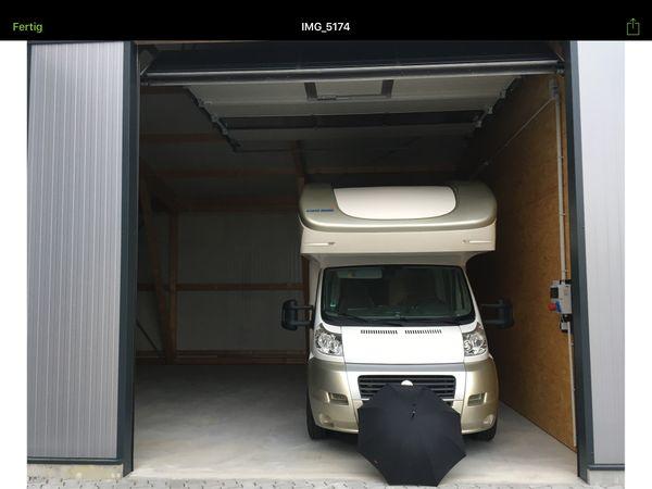 garage f r oldtimer wohnmobil boot hausrat lager. Black Bedroom Furniture Sets. Home Design Ideas
