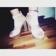 Sommer sandalen rose