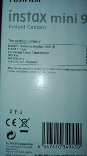 Instax Mini 9 Fujifilm Weiß