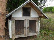 Kleintier- Hasen-Stall für Aussenbereich