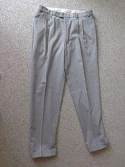 Vintage Herren-Bundfaltenhose