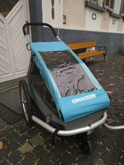 Croozer Kid for 1 hellblau