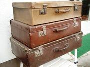 Drei Koffer mit Vergangenheit