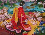 Ölgemälde 116x75 Gemälde Öl Bild