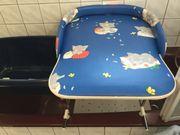 Badewannenaufsatz Wickeltisch mit