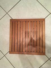 Bodenmatte fürs Bad aus Holz