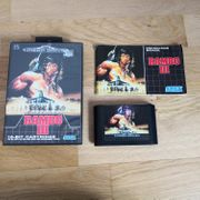 Sega Mega Drive Spiel Rambo