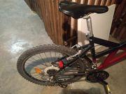 Fahrrad mit Zubehör