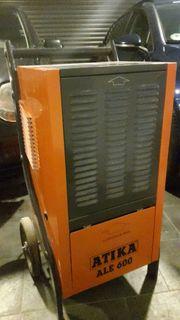 Bautrockner Luftentfeuchter ATIKA 600 zu