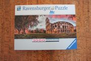Ravensburger Puzzle Colosseum im Abendrot