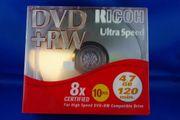 10-er Pack RICOH DVD RW