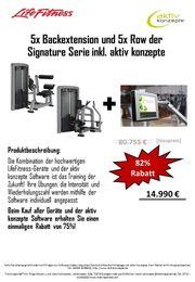 Lifefitness Signature Serie Row backextension